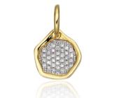 Riva Diamond Mini Pendant - Monica Vinader