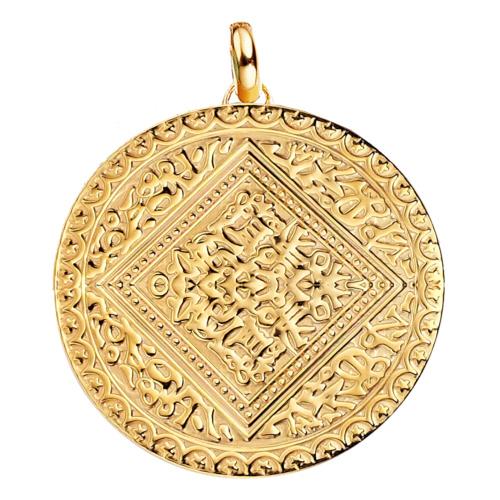 Gold Vermeil Marie Pendant - Monica Vinader