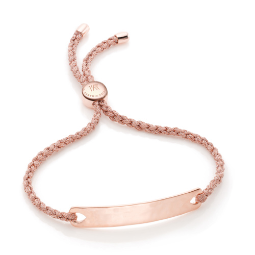 Rose Gold Vermeil Havana Friendship Bracelet - Rose Metallica